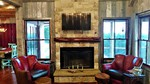 CAVE STONE FIREPLACE