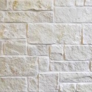 white limestone natural thin stone veneer