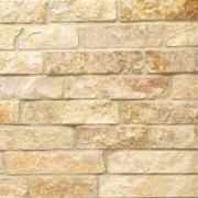 gold limestone natural thin stone veneer