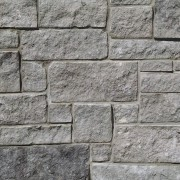 Charcoal Lueders limestone natural thin stone veneer